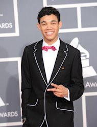 Roshon Fegan arrives at the 54th Annual Grammy Awards held at Staples Center in Los Angeles on February 12, 2012 -- Getty Images