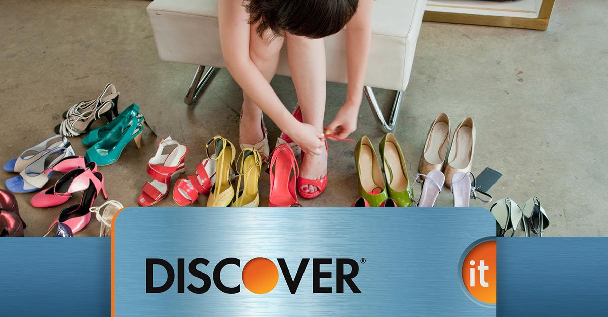 New—Discover It® Doubles Your Cash Back*
