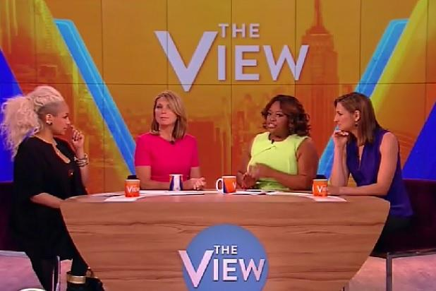 Sherri Shepherd Returns to 'The View' to Discuss Cheating on Tinder