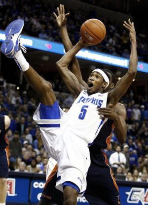 Memphis beats UTEP 65-47 in C-USA tournament