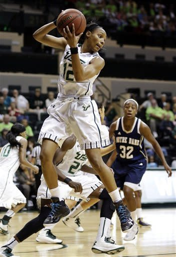 Diggins helps No. 2 Irish women hold off USF in OT
