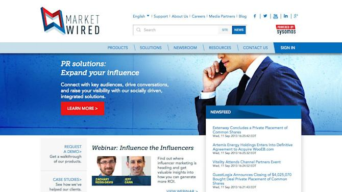 Marketwired Unveils New Website and Blog