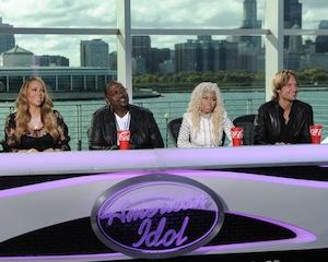 American Idol Bosses Shrug Off Nicki/Mariah Feud, Defend 'Passionate, Dynamic' Judges Panel