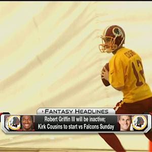 'NFL Fantasy Live': Can you start Washington Redskins quarterback Kirk Cousins?