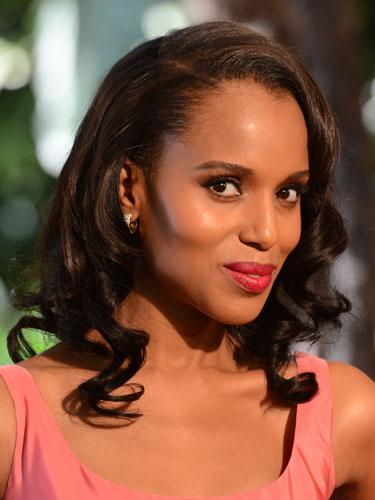 Medium-length: Kerry Washington