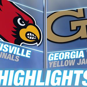Louisville vs Georgia Tech | 2014-15 ACC Men's Basketball Highlights