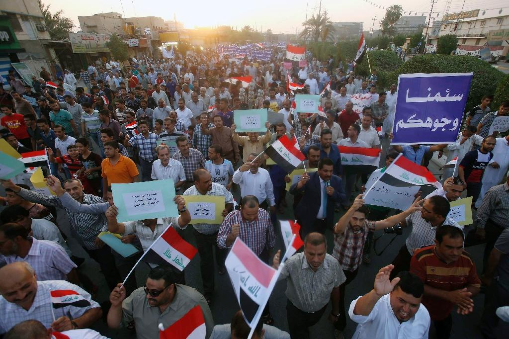 Thousands protest against corruption in Iraq capital