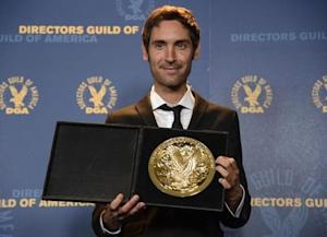 Documentary award recipient Bendjelloul poses at the 65th annual Directors Guild of America Awards in Los Angeles