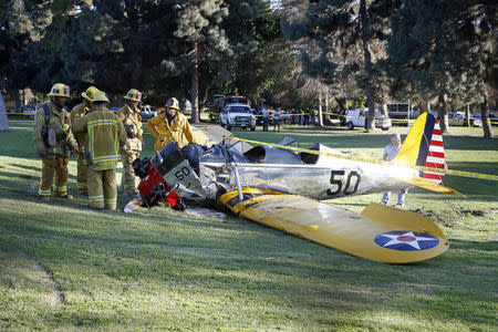 Vintage plane Harrison Ford crashed was well-restored, official says