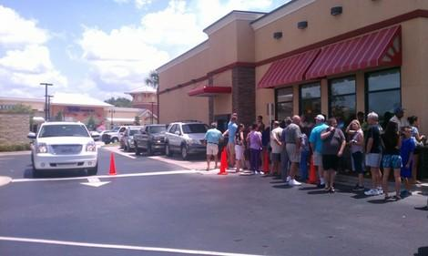 Southwest Florida Crowd Enthusiastically Supports Chick-fil-A on 'Appreciation Day'