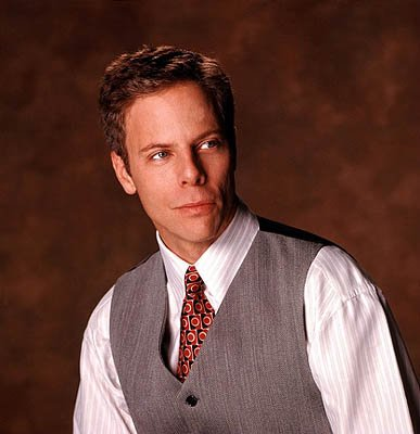 Greg Germann is Richard Fish on Ally McBeal Ally McBeal