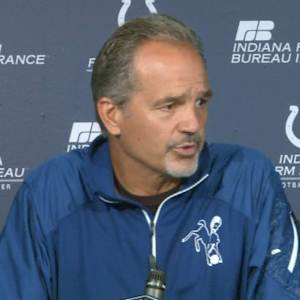 "Indianapolis Colts head coach Chuck Pagano: ""Let's see how our twelfth man reacts to that insult"""