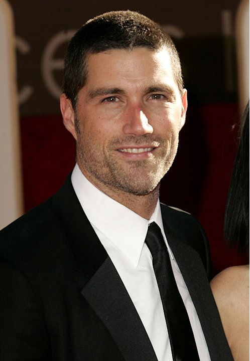 Matthew Fox at The 63rd Annual Golden Globe Awards.