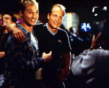 Woody Harrelson and Matthew McConaughey in Universal's EDtv