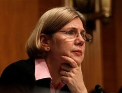 Elizabeth Warren conducts a 2009 TARP hearing.