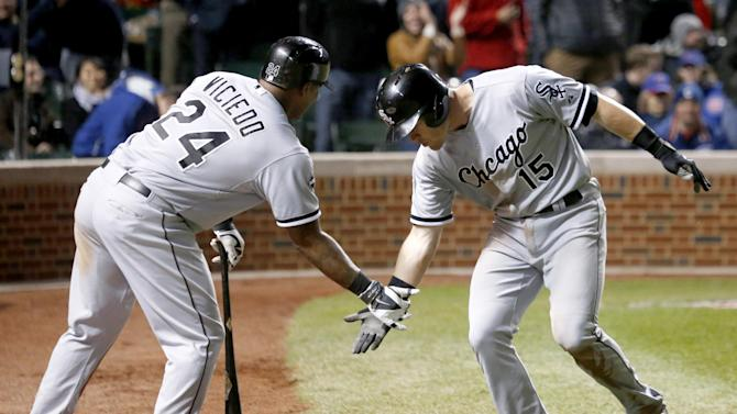 Beckham gives White Sox 5-1 win over Cubs