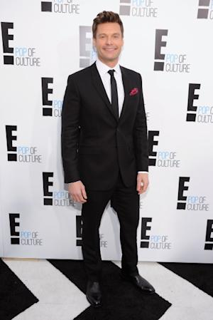 Ryan Seacrest of 'E! News' attends E! 2012 Upfront at NYC Gotham Hall, New York City, April 30, 2012 -- Getty Premium
