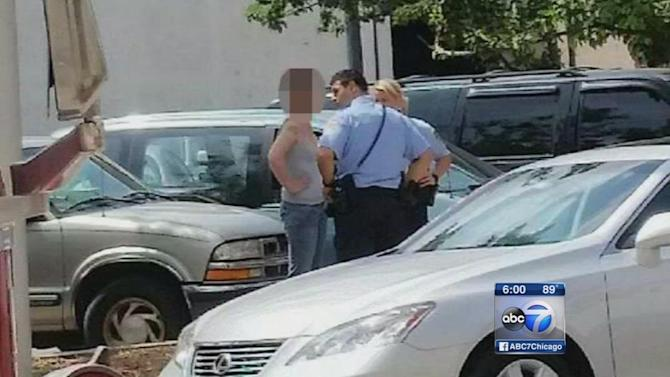Baby rescued from hot car in Joliet