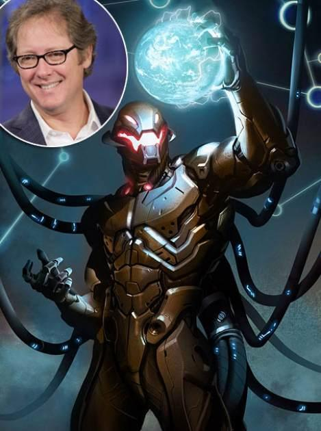 James Spader / Marvel's Ultron -- Getty / Marvel