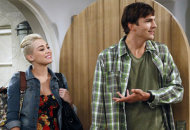Miley Cyrus and Ashton Kutcher | Photo Credits: Greg Gayne/Warner Bros.