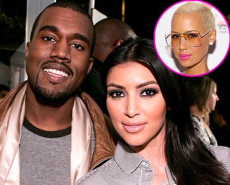 Kim Kardashian, Kanye West Hooked Up, Amber Rose Hints