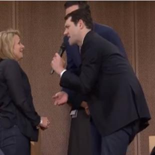 Fuse TV's Comedian Billy Eichner Ambushes Jimmy Fallon's 'Tonight Show' Audience (Video)