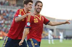 Spain U-21 3-0 Netherlands U-21: Morata, Isco and Vazquez clinch top spot in Group B