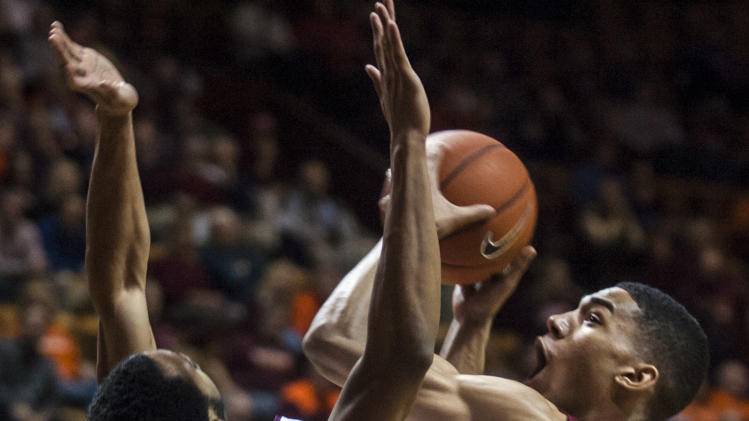 NCAA Basketball: Boston College at Virginia Tech