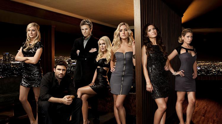 "The cast of the final season of ""The Hills"""