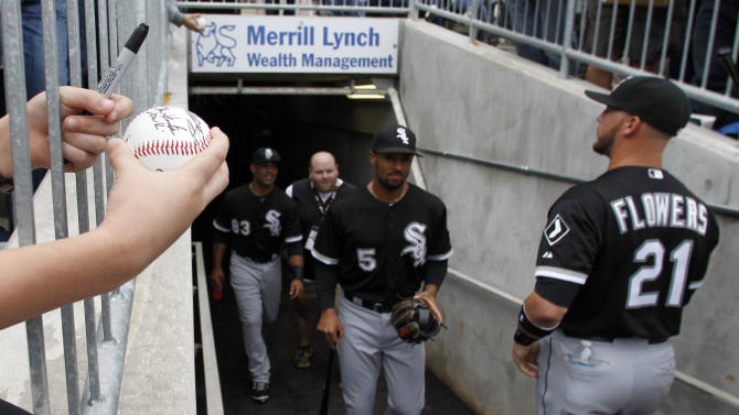 Gillaspie has 3 hits, White Sox beat Double-A team
