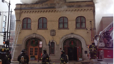 Chicago Firehouse Asking For Funds To Help Employees After Fire