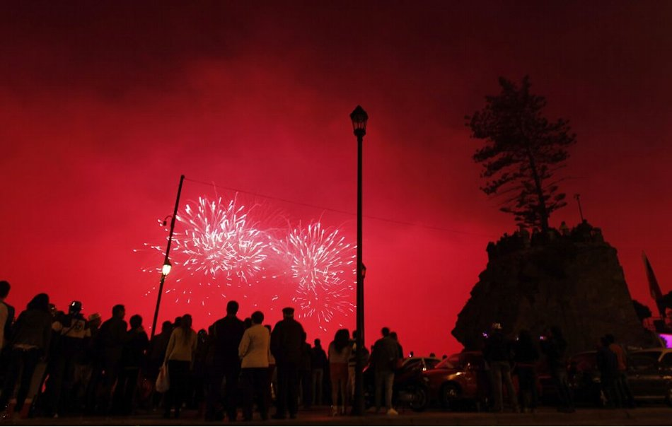 New Year 2013 Chile