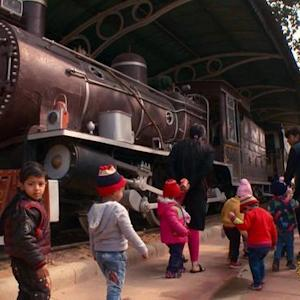 Exotic Indian train ride transports tourists through time