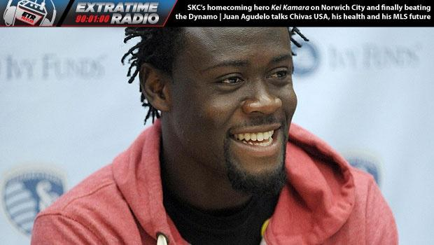 ExtraTime Radio Podcast: Sporting KC's Kei Kamara on Norwich City and free Chipotle, plus New England's Juan Agudelo