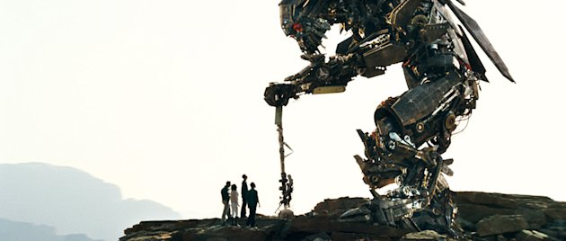Transformers: Revenge of the Fallen Production Stills Paramount 2009