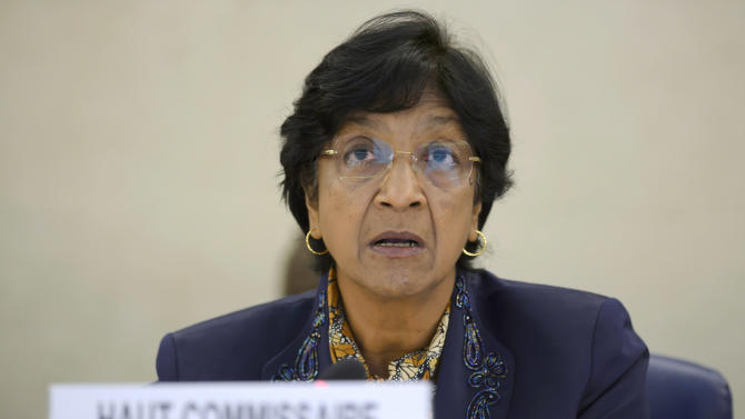 UN High Commissioner for Human Rights, Navi Pillay