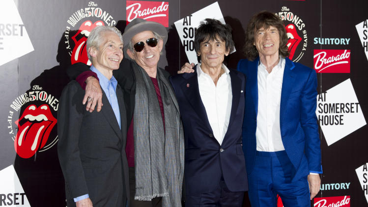 Rolling Stones to play UK's Glastonbury Festival