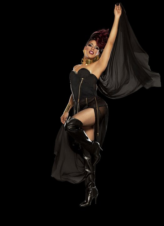 Alexis Mateo competes in &quot;RuPaul's Drag Race.&quot; 
