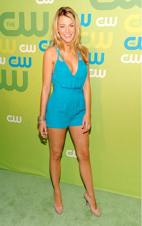 Lively Blake CW Upfronts