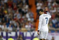 Cristiano Ronaldo, pictured on September 2, insisted Tuesday his complaint about being glum at Real Madrid is not a ploy to get more money out of the club