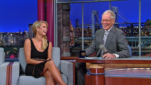 David Letterman - Meet Paris Hilton's Boyfriend