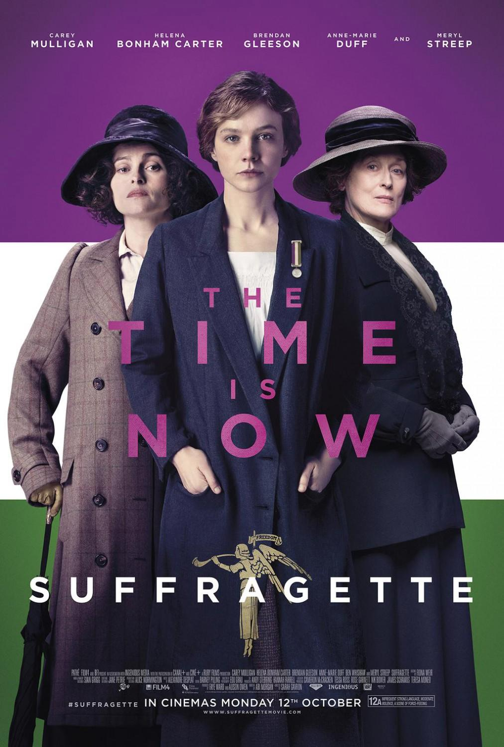 'Suffragette' tops bill as London film festival spotlights women's struggles
