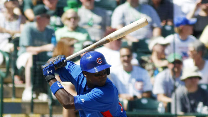 MLB: Spring Training-Chicago Cubs at Oakland Athletics