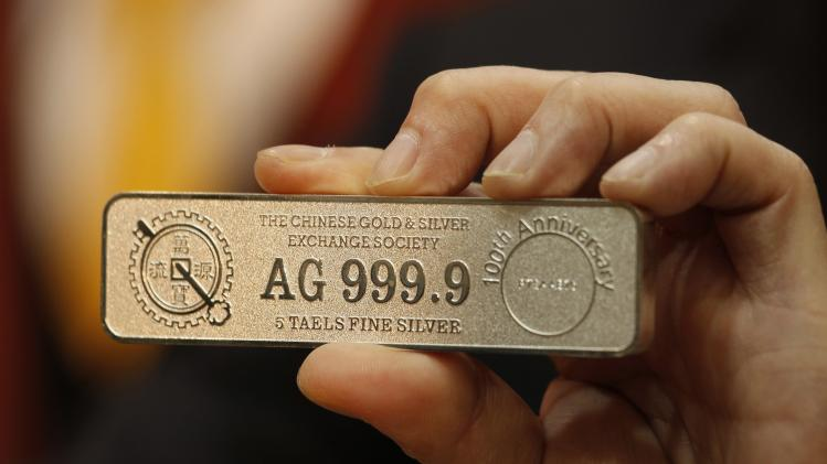 New five-tael silver bar is introduced at the Chinese Gold and Silver Exchange Society in Hong Kong