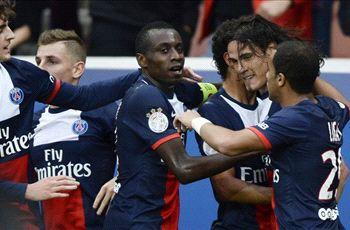 Paris Saint-Germain 4-0 Bastia: Ibrahimovic and Cavani doubles see Parisiens sail to victory