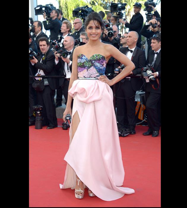 Freida dazzles at Cannes