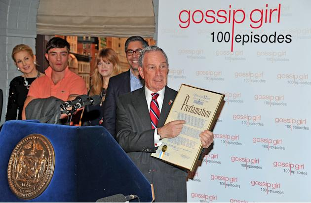 "Mayoral Proclamation In Celebration Of The ""Gossip Girl"" 100th Episode"