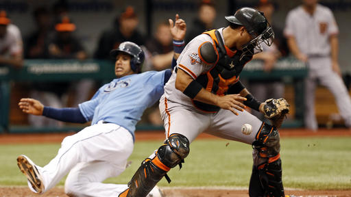 Bullpen keys Rays' win over Giants