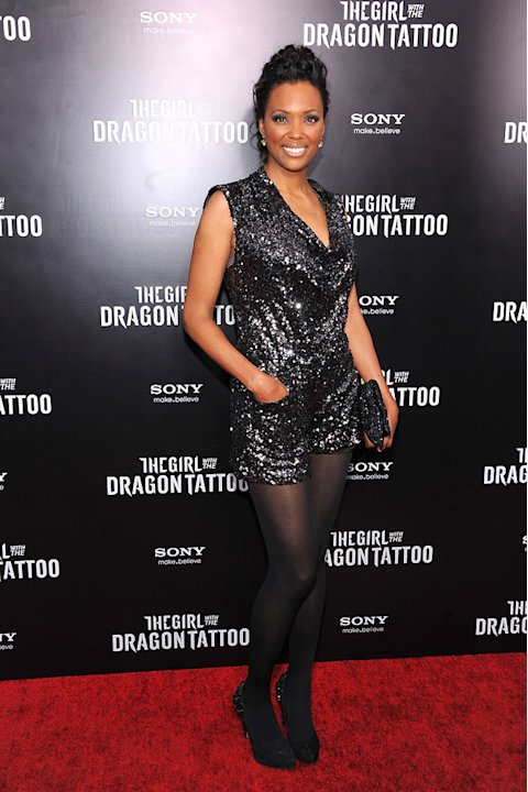 The Girl with the Dragon Tattoo NY Premiere Aisha Tyler