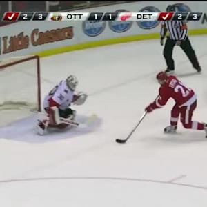 Tomas Tatar Goal on Andrew Hammond (00:00/SO)